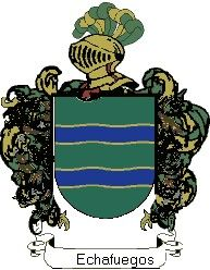 Escudo del apellido Echafuegos