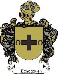 Escudo del apellido Echagoyen