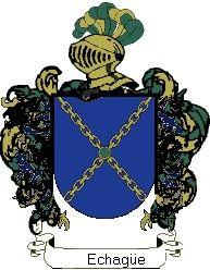 Escudo del apellido Echagüe