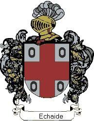Escudo del apellido Echaide