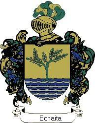 Escudo del apellido Echaita