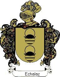 Escudo del apellido Echalaz