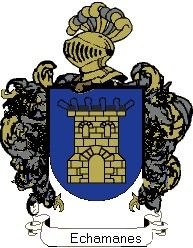 Escudo del apellido Echamanes