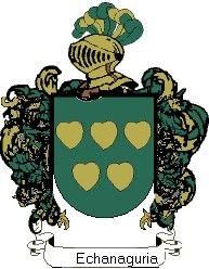 Escudo del apellido Echanaguria