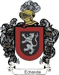 Escudo del apellido Echande
