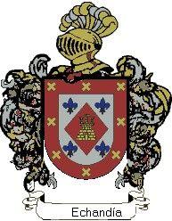 Escudo del apellido Echandía