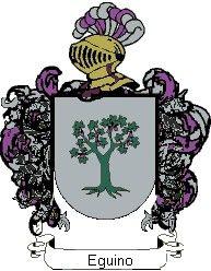 Escudo del apellido Eguino
