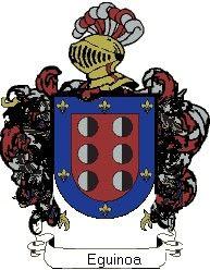 Escudo del apellido Eguinoa