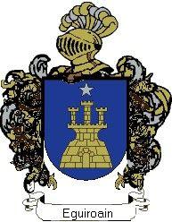 Escudo del apellido Eguiroain