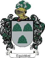 Escudo del apellido Eguizábal