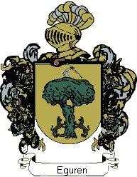 Escudo del apellido Eguren