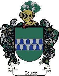 Escudo del apellido Egurza