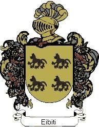 Escudo del apellido Eibiti