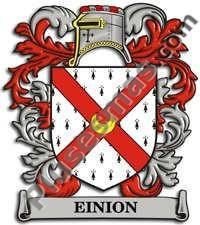 Escudo del apellido Einion