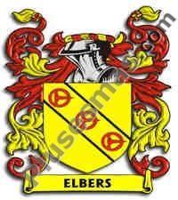 Escudo del apellido Elbers