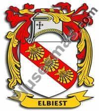 Escudo del apellido Elbiest