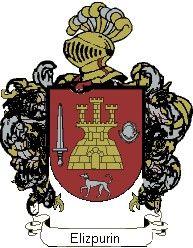 Escudo del apellido Elizpurin