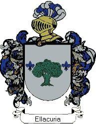 Escudo del apellido Ellacuria