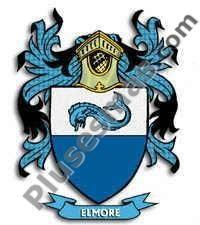 Escudo del apellido Elmore