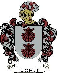 Escudo del apellido Eloceguis