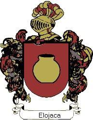 Escudo del apellido Elojaca