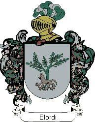 Escudo del apellido Elordi