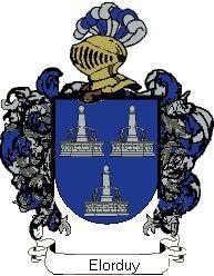 Escudo del apellido Elorduy