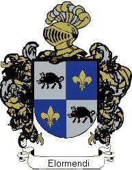 Escudo del apellido Elormendi