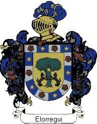 Escudo del apellido Elorregui