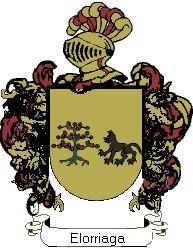 Escudo del apellido Elorriaga