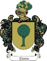 Escudo del apellido Elorrio