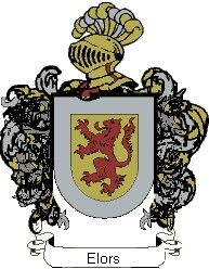 Escudo del apellido Elors
