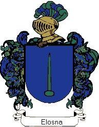 Escudo del apellido Elosna