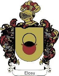 Escudo del apellido Elosu