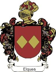 Escudo del apellido Elquea