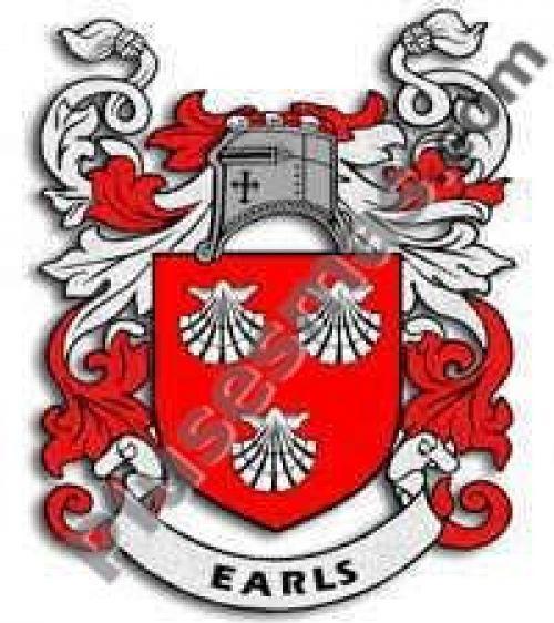Escudo del apellido Earls