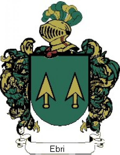 Escudo del apellido Ebri