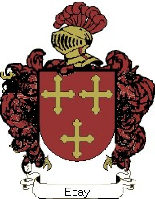 Escudo del apellido Ecay