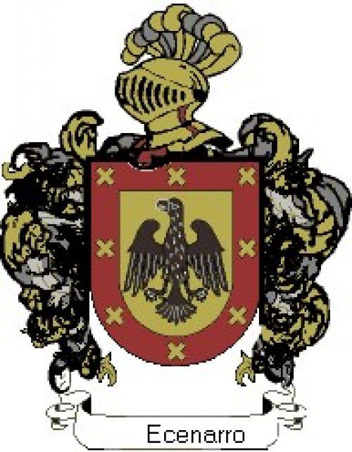 Escudo del apellido Ecenarro