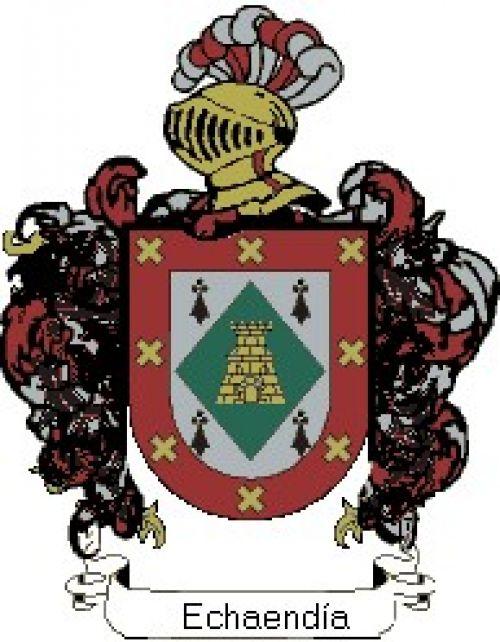 Escudo del apellido Echaendía