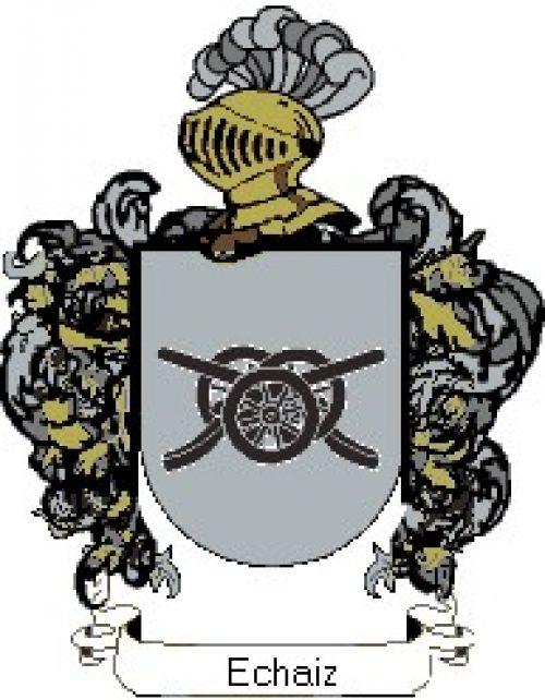 Escudo del apellido Echaiz