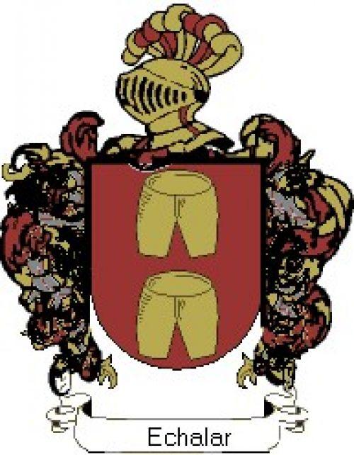 Escudo del apellido Echalar