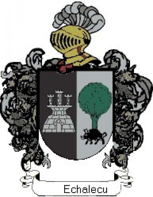 Escudo del apellido Echalecu