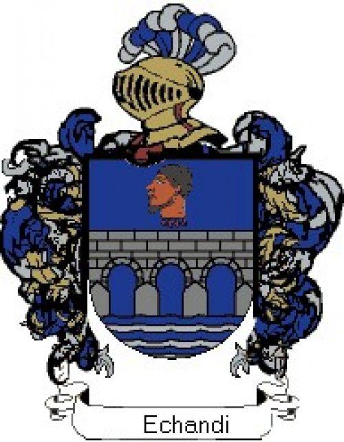 Escudo del apellido Echandi