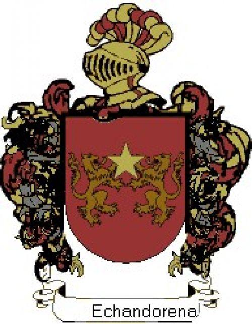 Escudo del apellido Echandorena