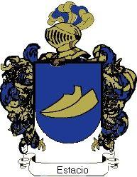 Escudo del apellido Estacio