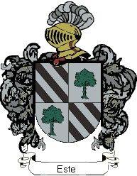 Escudo del apellido Este