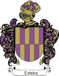 Escudo del apellido Esteba