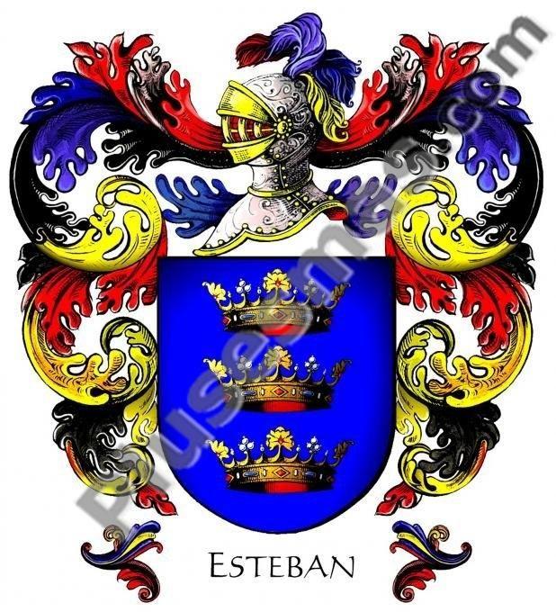 Escudo del apellido Esteban