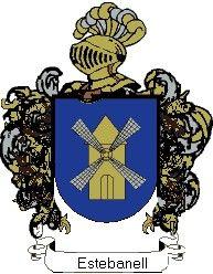 Escudo del apellido Estebanell